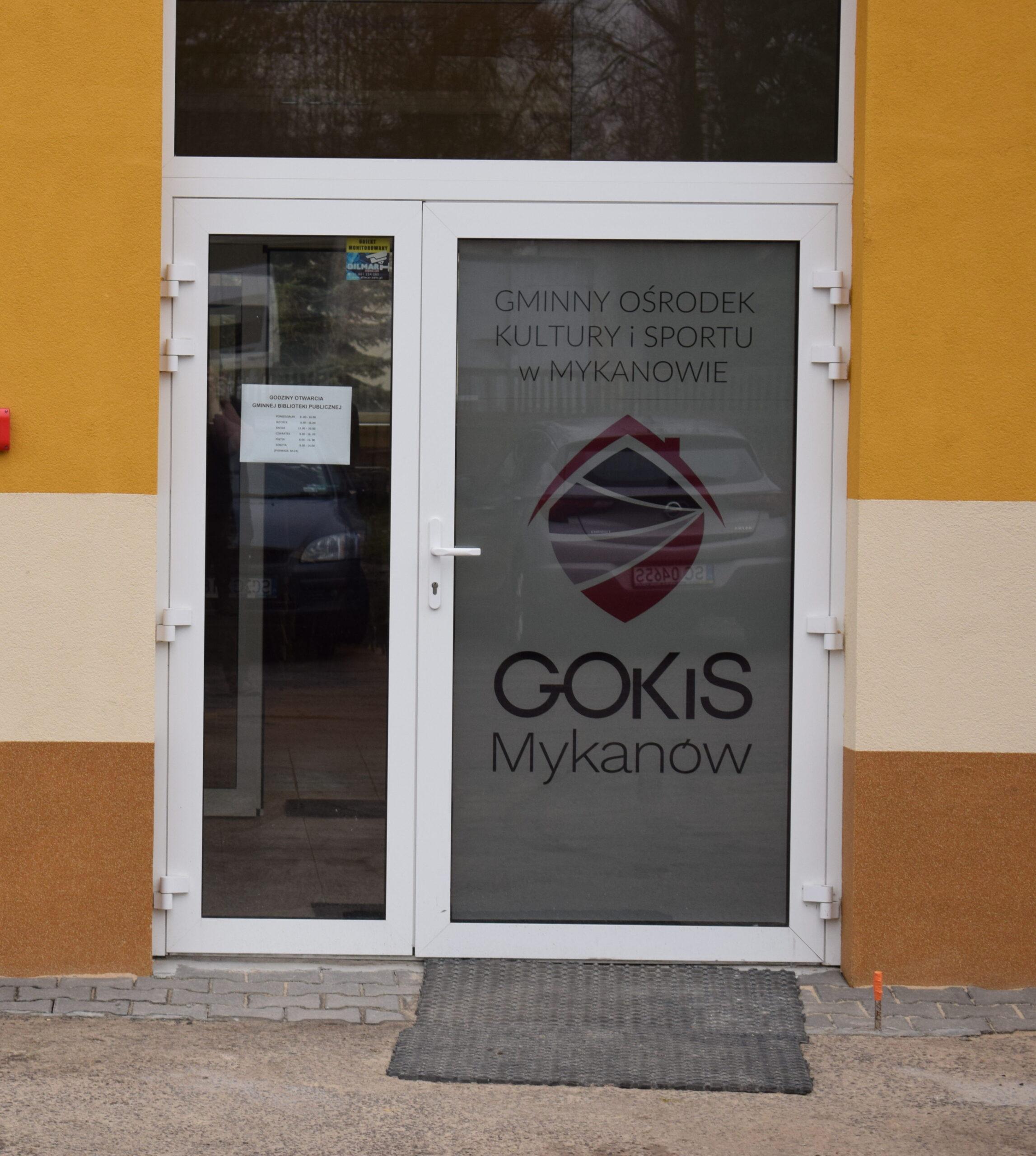 Zakończenie rozbudowy i otwarcie GOKiS :)